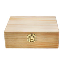 Wood Stash Box With Rolling Tray Large And Perfect To Organize Your Accessories(China)