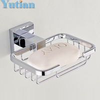 Strongest Practical Design Solid Stainless Steel Bathroom Accessories Bathroom Soap Dish Soap Basket Free Shipping YT