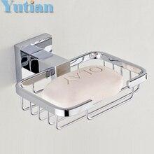 Сильнейший Практичный дизайн! нержавеющая сталь аксессуары для ванной комнаты, ванная комната мыльница, мыло корзины, Free доставка, YT11390