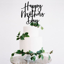 Happy Mothers Day Cake Topper, Pie