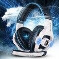 Sades SA-903 Объемного Звука 7.1 канала USB Gaming Проводная Гарнитура Наушники с Микрофоном Регулятором Громкости Микрофон С Шумоподавлением Наушники