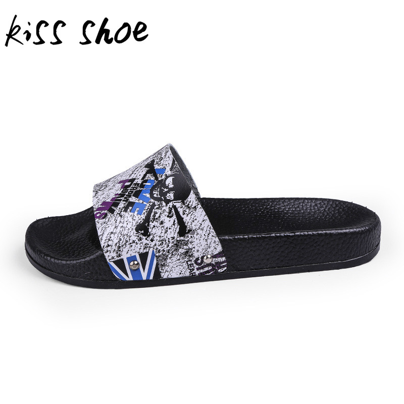 Kiss Shoe New 2018 Summer Fashion Men Sneakers Casual Shoes Soft Comfort Flats Footwear Big Size 39-44