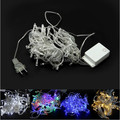 100 LED Christmas Tree Fairy Colorful String Party Lights Lamp Xmas Waterproof Free Shipping