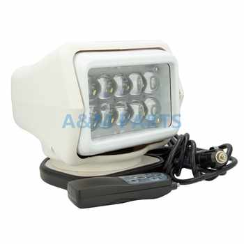 50W LED Remote Control Searchlight Truck Boat Car Marine Wireless Spotlight - DISCOUNT ITEM  25% OFF All Category