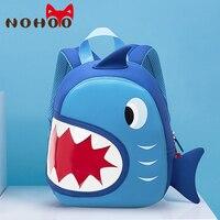 NOHOO 3D Dinosaur Kids Backpack Toddler Backpacks for Boys Girls Children School Backpack Dinosaur Bookbag Toys Bag