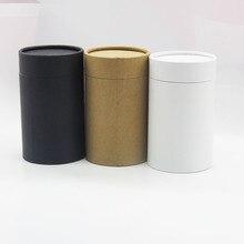Почтовая отправка бумажная картонная канистра цилиндрическая круглая банка упаковка подарочная коробка