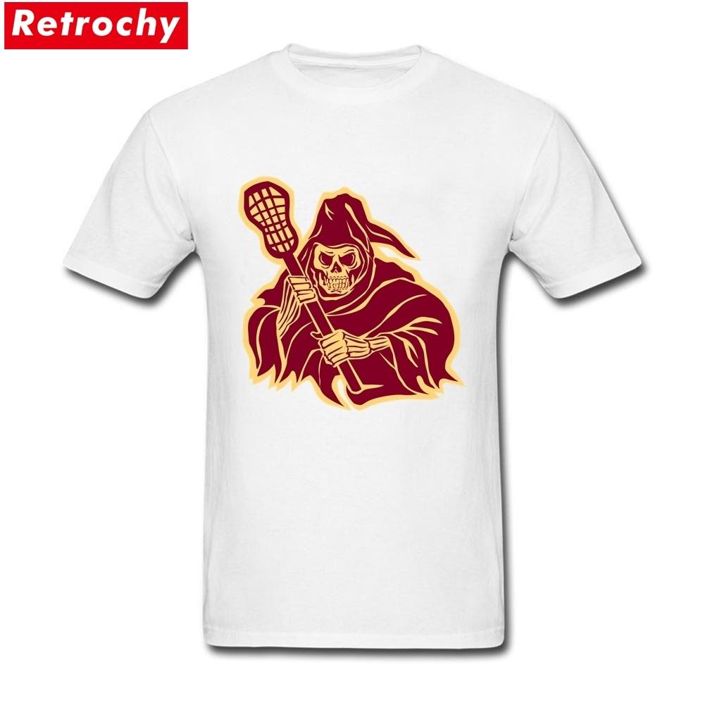 Tshirts latest designs grim reaper lacrosse defense pole for Team t shirt designs