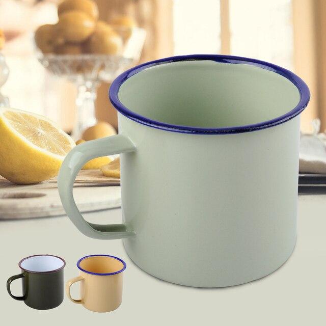 Enamel Mug Cup Enamelware Coffee Mug Handmade Enamel Mug