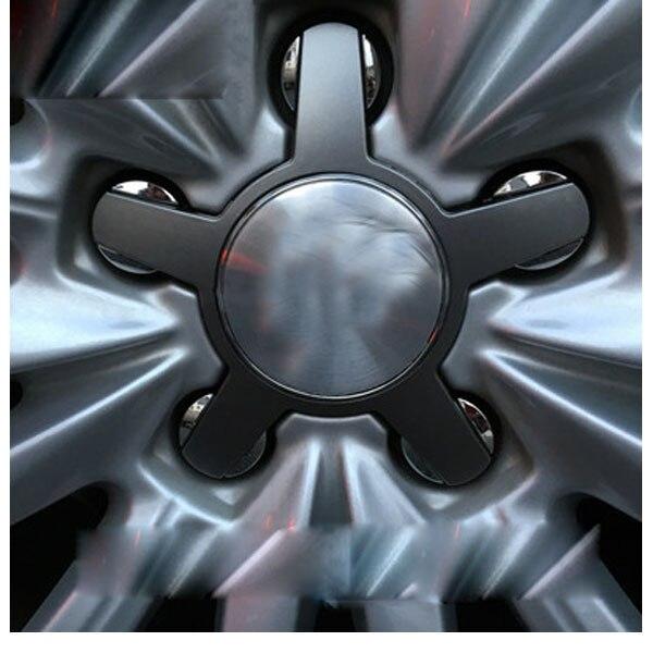 20x Grey Black Silver Car Logo Wheel Center Hub Caps 135mm 4F0601165 4F0601165N for A3 A4