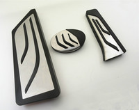 Car Accessories For BMW X1 F48 2 series Touring 218i 220i 220d 225xe AT Auto Accelerator Foot Rest Pedal Pad Sticker
