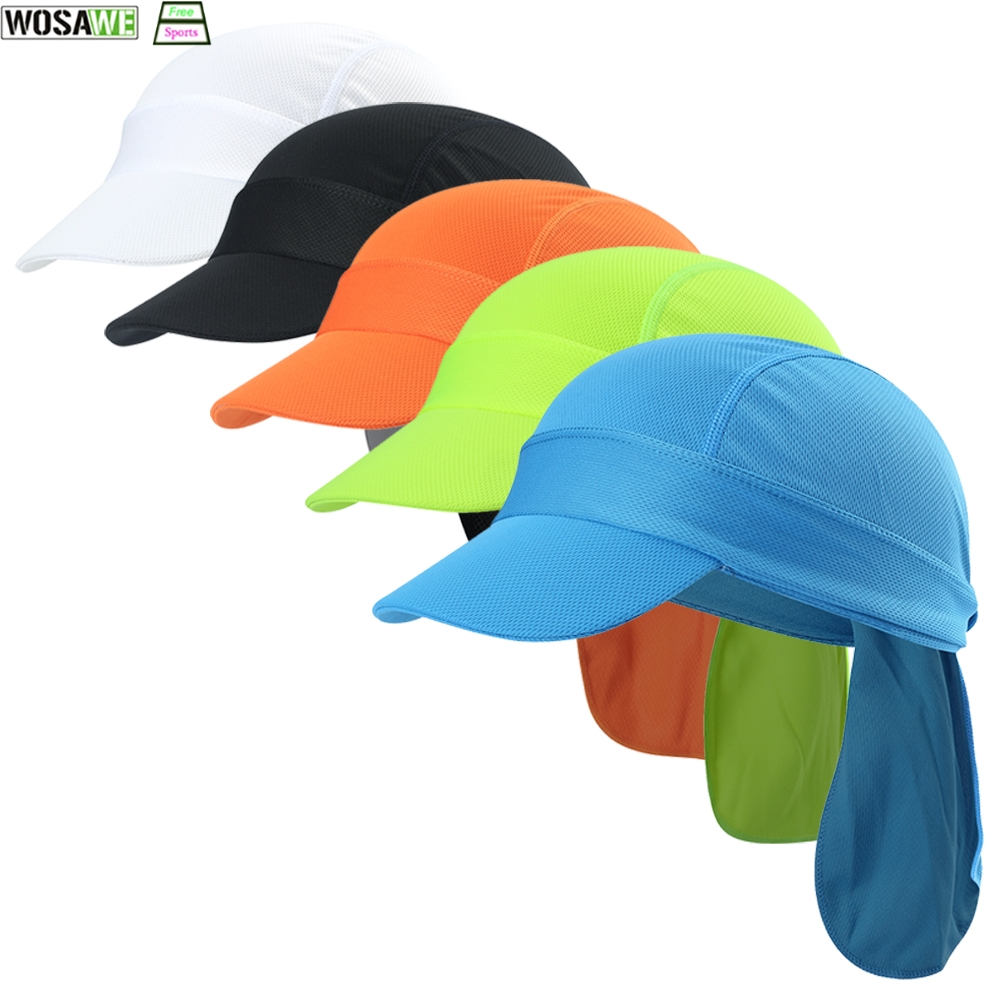 Cycling Cap Summer Quick Dry Sports Men Women Headband Climbing Running Bicycle Hat Breathable Fishing Riding Hats in Cycling Caps from Sports Entertainment