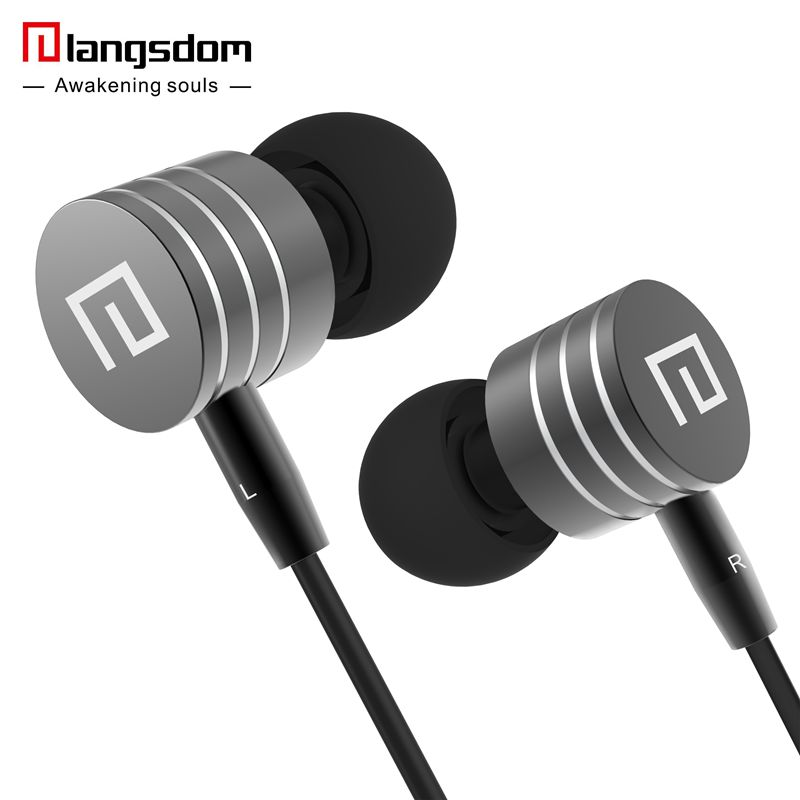 Clearance Wholesale 10pcs/lot Metal Earphones Bass Stereo Earphone Earbuds with Microphone Headsets for phone fone de ouvido 3 5mm heavy bass stereo earphone for dexp ixion mq 3 5 earbuds headsets with microphone metal in ear earphones