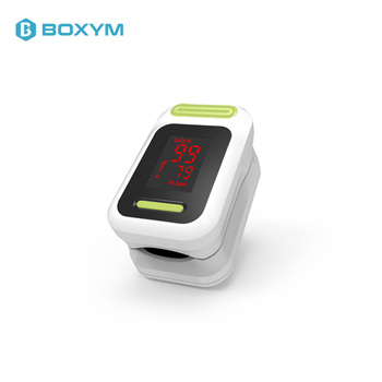 BOXYM Medical Pulse Oximeter Oximetro De Pulso blood oxygen Heart Rate Monitor Saturometro Monitor LED CE Oximetro De Dedo