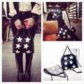 Free shipping 2017 New Women Chain Handbags Leather Shoulder Bags with Star Design High Quality Famous Designer Ladies Cross bod