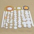1 КОМПЛ. 75 шт. Типа Пластиковой Вал Одноместный Двухместный Снижение Корона Червячных Передач DIY Для Робота