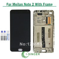 Touch Screen LCD For Meizu M2 Note Meilan Note 2 Digitizer Display Panel Assembly For Meizu