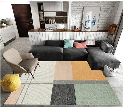 200 300cm Vintage Modern Fashion Classic Geometric Stripe Decorative Area Rug For Living Room Large Big Carpet Bedroom Non Slip in Carpet from Home Garden