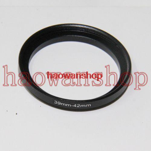 39mm-42mm 39-42 mm 39 to 42 Step Up lens Filter Ring Adapter