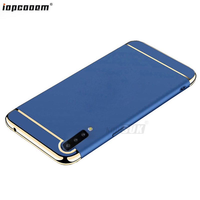 A7 2018 Case For Samsung Galaxy A7 2018 Cases Fashion business 3 in 1 PC Back Cover For Samsung Galaxy SM-A750F A750 Coque