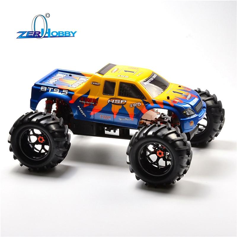 HSP RACING RC samochodów 94083 94083GT 1/8 skala NITRO z napędem 4WD OFF ROAD Monster Truck wysokiej mocy TW SH28CXP silnika w Samochody RC od Zabawki i hobby na  Grupa 2