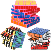 8*8 ShengShou HuangLong 8 Layers Magic Cubes 8x8x8 Professional Speed Puzzle Cube Antistress Toy for Children 8.4CM