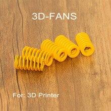 3D Prinrter Parçaları Bahar Ithal Uzunluğu 15mm OD 8mm KIMLIĞI 4mm Için Isıtmalı yatak MK3 CR-10 yatağı