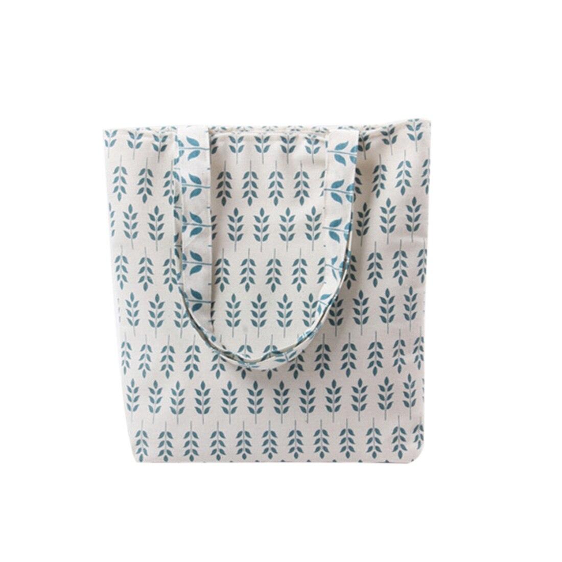 Women Handbags Cotton Linen Tote Bags Reusable Grocery Shopping Bag Eco Foldable Handbags for Shopping Cart Trolley стоимость