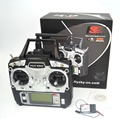 Zangão 6CH TX RX FS-R6B FlySky FS-T6 2.4G RC Transmissor Receptor Do Sistema de Controle de Rádio