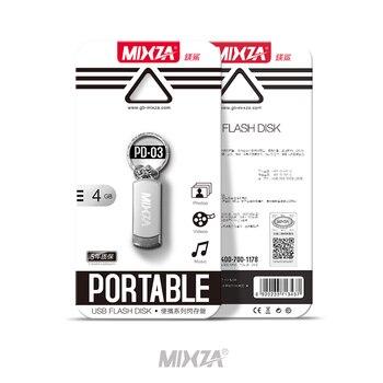 MIXZA PD-03 USB Flash Drive USB Pendrive 8GB/16GB/32GB/64GB/128GB  Flash Drive USB Stick USB 2.0