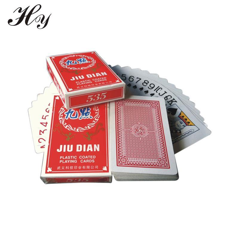 Playing Cards Poker Paper Playing Cards Game Poker Cards Red Poker Baralho Cartas Fun Cartas De Jogar Paper For Playing Card
