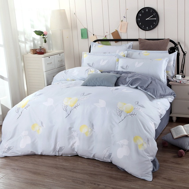 BEST.WENSD Luxury quilts 3d comforter set duvet cover sets +bed linen+pillowcases bed clothes flower Quilt cover set for bedroom