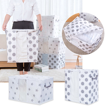Artículos creativos para el hogar, bolsas de almacenamiento, organizador de ropa, colcha, bolsa de acabado, colchas, bolsas de colchas lavables