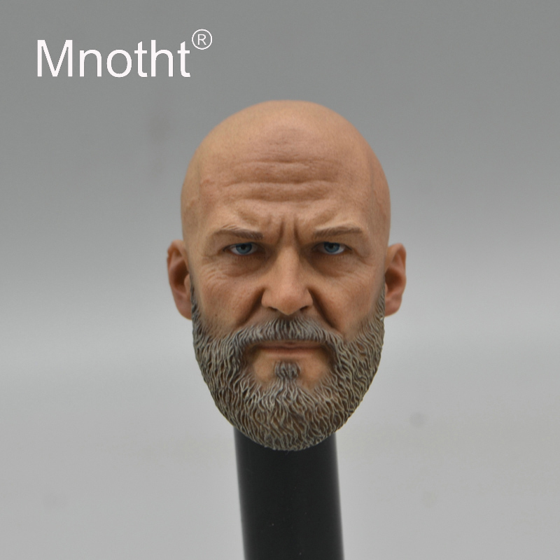 Western Villain with Beard Head Carving for 12inch Action Figure Toys Collection 1/6 Scale Male Soldier Head Sculpt Mnotht M3n все цены