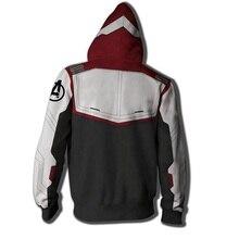 Avengers Endgame Hoodie Custom Sweatshirt Jacket Plus size Advanced Tech Hoodie