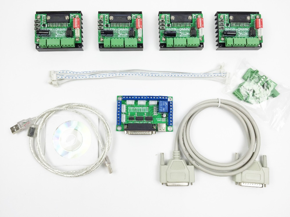 Online buy wholesale 4 axis stepper motor controller from for Stepper motor buy online