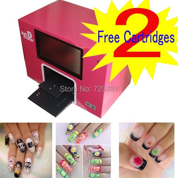 free shipping New upgrade digital nail printer nail printing machine ...