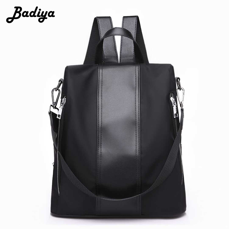 Casual Women Solid Backpack School Teenage Girl Rucksack Large Capacity Female Daily Shopping Travel