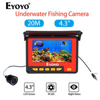 EYOYO F05 4 3 20M Infrared IR 150degrees Underwater Ocean River Lake Boat Ice Fishing Camera
