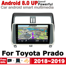 ZaiXi 10.1 HD IPS Screen DSP Stereo Android Car DVD GPS Navi Map For Toyota Land Cruiser Prado 2018~2019 multimedia player yessun car android player multimedia for toyota fj cruiser radio stereo gps map nav navi navigation no cd dvd 10 hd screen