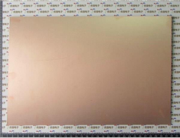 7*10 10*15 10*20CM 20*30 Single-Sided bakelite copper-clad plate universal diy single sided bakelite plate board brown