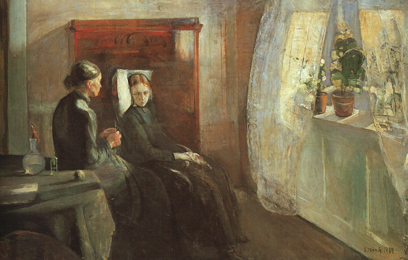 Oil Painting Reproduction on Linen Canvas,spring-1889 by Edvard Munch,100% handmade,abstract oil paintingOil Painting Reproduction on Linen Canvas,spring-1889 by Edvard Munch,100% handmade,abstract oil painting