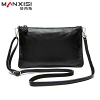 Cowhide Messenger Bag Women Shoulder Bags Genuine Leather Lady Bag Fashion Famous Brand Women Small Bag