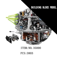 LELE Star Millennium Falcon Wars First Order Death Star Destroyer Solo Building Blocks Bricks Toys For Children gifts legoINGly
