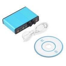 Новый Профессиональный Внешний USB Звуковая Карта Канала 5.1 Оптический Аудио Адаптер для ПК Портативный Компьютер Оптовой