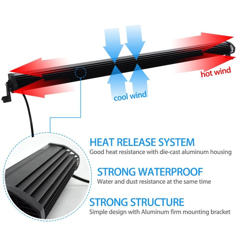 Offroad 288 watt 50 zoll LED Licht Bar Combo Strahl + ...
