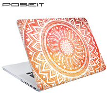 New Color pattern Print Hard Case For Apple Macbook Air Pro Retina 11 12 13 Retina 15 Laptop Bag For Mac book 13.3 inch Cover PC patterned leather coated pc protective cover for macbook pro 15 4 inch with retina display pretty flowers orange