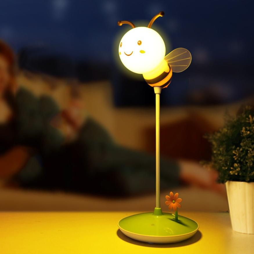 1pcs Rechargeable 3D Night Light Home Modern Bumble Bee Light In Yellow/Pink For Any Boy Or Girl Bedroom  Decor Creative Gift1pcs Rechargeable 3D Night Light Home Modern Bumble Bee Light In Yellow/Pink For Any Boy Or Girl Bedroom  Decor Creative Gift