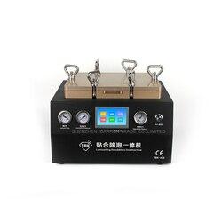 TBK408 próżniowe rama maszyny do laminowania do usuwania pęcherzyków powietrza 2 w 1 naprawa ekranu dotykowego maszyna bańki klej maszyna do usuwania lcd