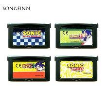 סוניק 1 2 3 הקיפוד Genesis מחסנית כרטיס עבור 32 קצת משחק וידאו קונסולת אבזרים