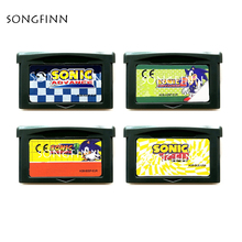 Sonic 1 2 3 The Hedgehog Genesis tarjeta de cartucho de memoria para consola de videojuegos de 32 bits, accesorios